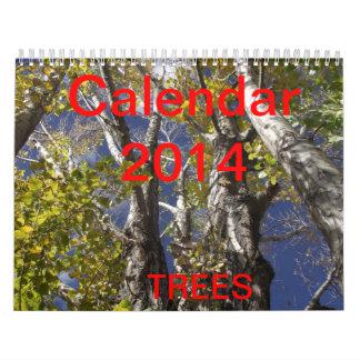Calendrier des arbres 2014