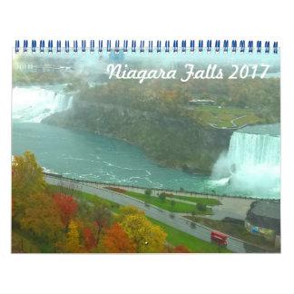 Calendrier des chutes du Niagara 2017