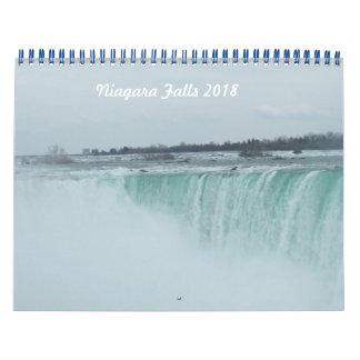 Calendrier des chutes du Niagara 2018