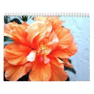 Calendrier floral de photographie