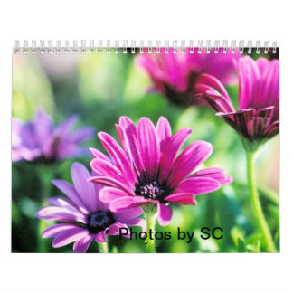 Calendrier flower power