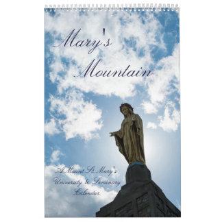 Calendrier La montagne de Mary : L'université de St Mary de