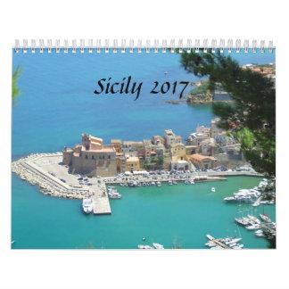 Calendrier La Sicile 2017