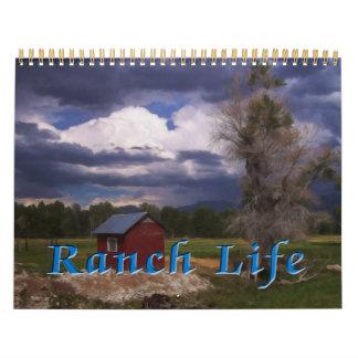 Calendrier La vie de ranch