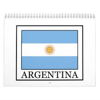 Calendrier L'Argentine