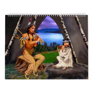 Calendrier mensuel indien indigène