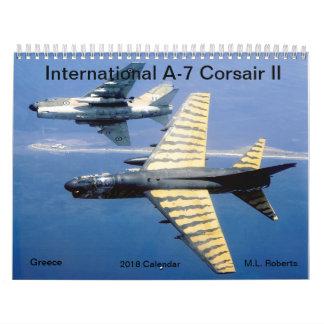 Calendrier Mural Corsaire A-7 international II