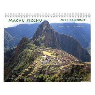 Calendrier mural de Machu Picchu