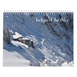 Calendrier Mural Images des Alpes