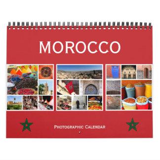 Calendrier Mural le Maroc 2018
