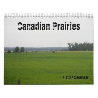 Calendrier Mural Prairies canadiennes