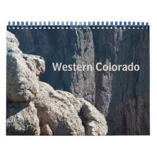 Calendrier occidental de photo du Colorado