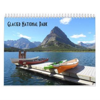 Calendrier Parc national 2018 de glacier