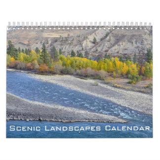 Calendrier Paysages pittoresques de l'Amérique du Nord