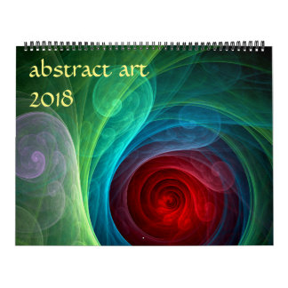 Calendriers Art 2018 abstrait moderne
