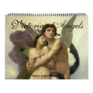 Calendriers Muraux Beaux-arts vintages, anges victoriens d'ère