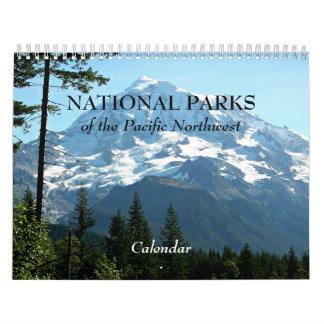 Calendriers Muraux Parcs nationaux de la photo du nord-ouest