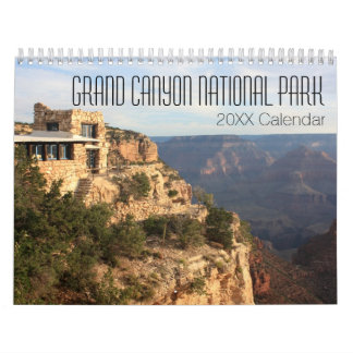Calendriers Muraux Photographie de parc national de canyon grand