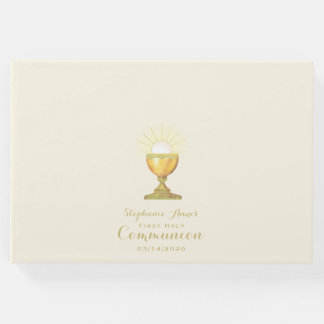 Calice de communion livre d'or