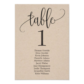Calligraphie Papier d'emballage de carte de