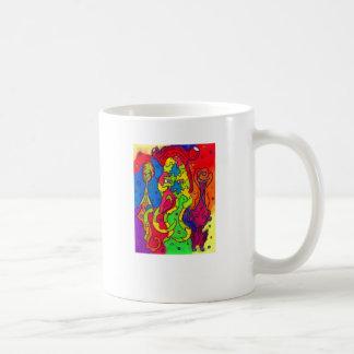 Calmar d'arc-en-ciel de puzzle mug
