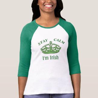 Calme de séjour -- Je suis irlandais - le T-shirt