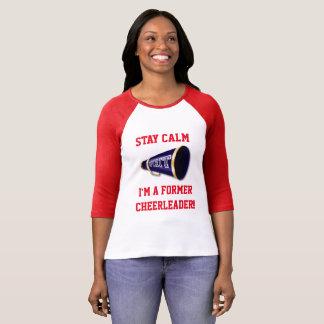 Calme de séjour - T-shirt de pom-pom girl