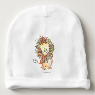 """Calotte de bébé de """"Rawr"""" du lion Bonnet Pour Bébé"""