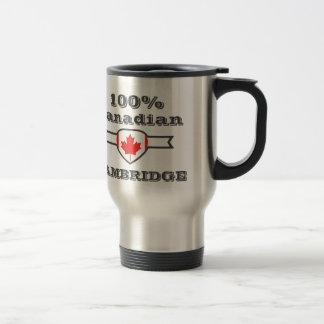 Cambridge 100% mug de voyage