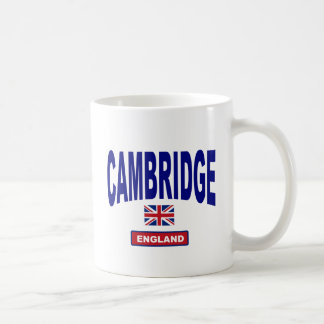 Cambridge Angleterre Mug Blanc