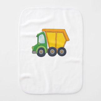 Camion à benne basculante personnalisable mignon linge de bébé