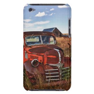 Camion orange de rouillement de Dodge avec la Coques iPod Case-Mate