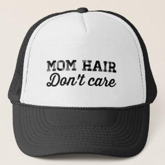 Camionneur de cheveux de maman casquette