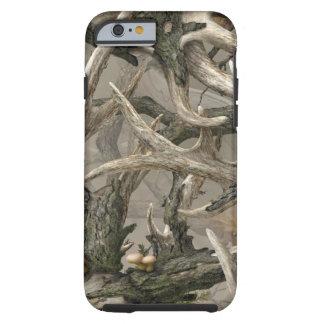 Camo de crâne de cerfs communs de région coque iPhone 6 tough