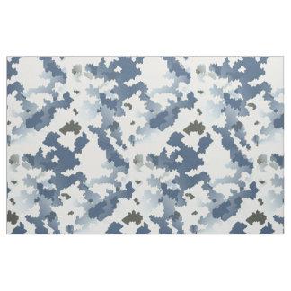 Camouflage d'hiver tissu