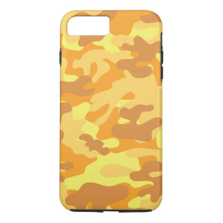 Camouflage d'or coque iPhone 7 plus