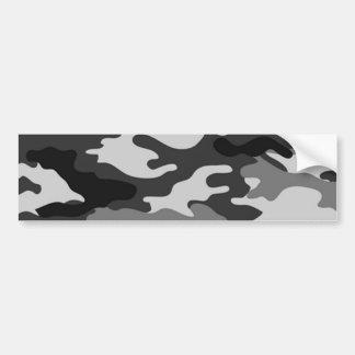 Camouflage gris autocollant de voiture
