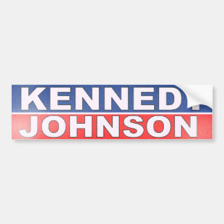 Campagne de Kennedy Johnson Autocollant De Voiture