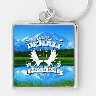 Campeur de Denali Porte-clés