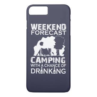 CAMPING DE PRÉVISION DE WEEK-END… COQUE iPhone 7 PLUS