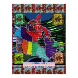 Canadien fier cartes postales