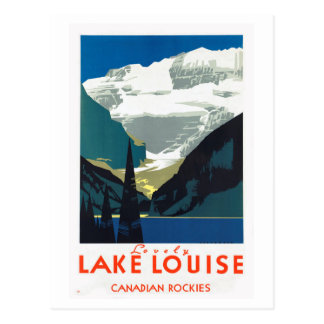 Canadien les Rocheuses Canada de Lake Louise Carte Postale