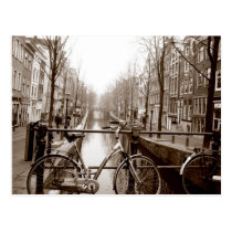 Canal d'Amsterdam Carte Postale