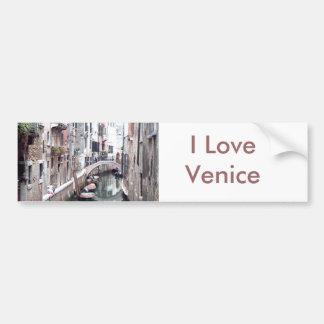 Canal de Venise Autocollant De Voiture