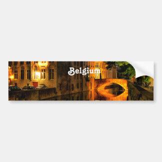 Canal en Belgique Adhésif Pour Voiture