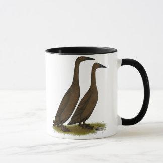 Canards de coureur de chocolat mug
