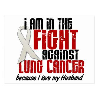 Cancer de poumon DANS le mari du COMBAT 1 Carte Postale