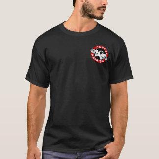 Cancer de poumon du guerrier 14c t-shirt