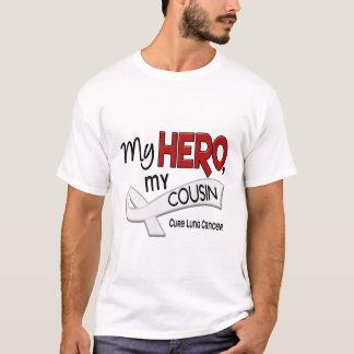 Cancer de poumon MON HÉROS MON COUSIN 42 T-shirt