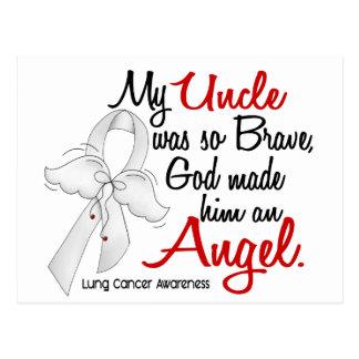 Cancer d'oncle poumon de l'ange 2 carte postale